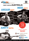 Anjan Dutt Live - Silver - Dress Circle